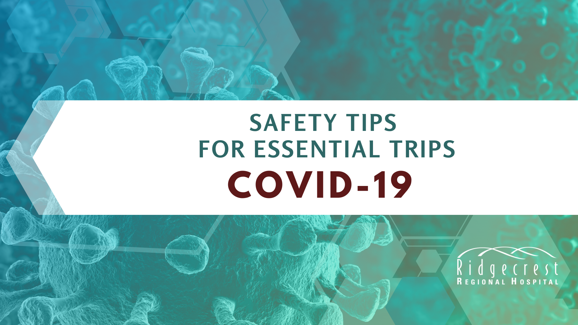 Coronavirus (COVID-19) Safety Tips for Essential Trips in ...