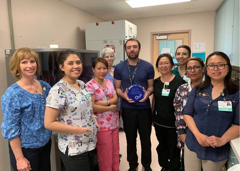 April 2019 Quality Initiative Award Lab