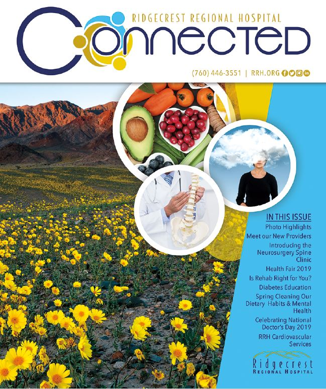 Spring Cover Connected Magazine